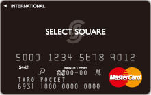 SELECT SQUARE CARD