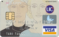 プラスHAPPY  UC CARD